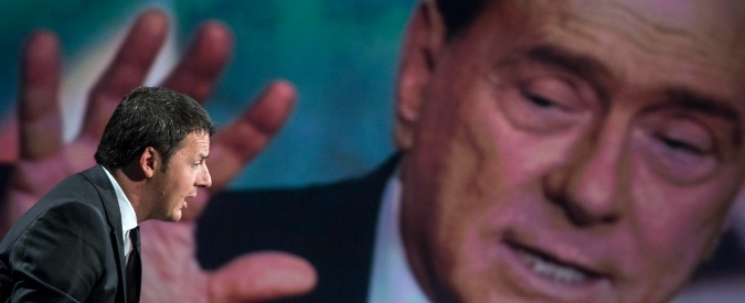 """""""Funerale alle tasse sulla casa"""". Articolo 18, Imu, Equitalia: sembra B. ma è Renzi"""