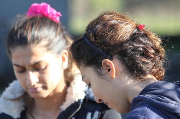 Demolizione case abusive campo rom di Scampia