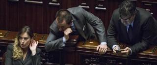Camera, bagarre M5s sul decreto mutui. Pd protesta, Di Maio espelle 3 grillini e il dem Fiano