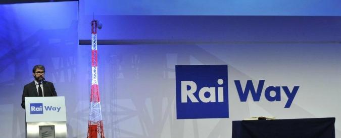 """Rai Way, Mediaset: """"Disponibili a fare i soci di minoranza. Dialoghiamo"""""""