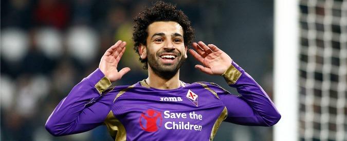 Calciomercato Roma, sbarca Salah: ma alla Fiorentina va di traverso