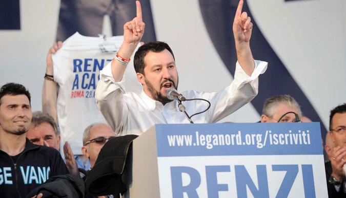 Salvini garantista slalomista, l'Alberto Tomba della destra