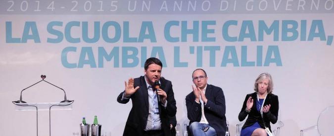 Renzi vuole riformare la scuola, intanto taglia i crediti a tutti gli istituti