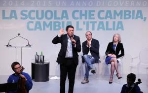"""""""La scuola che cambia, cambia l'Italia"""" con Matteo Renzi"""