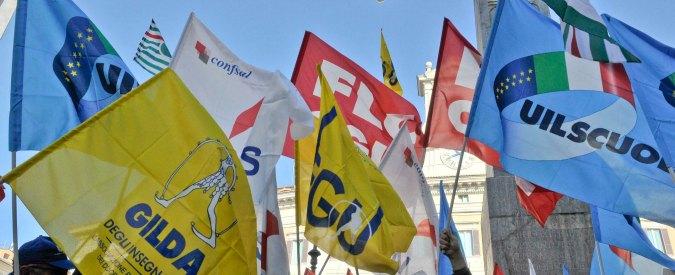 Riforma della scuola, il miracolo di Renzi: tutte le sigle sindacali unite contro di lui
