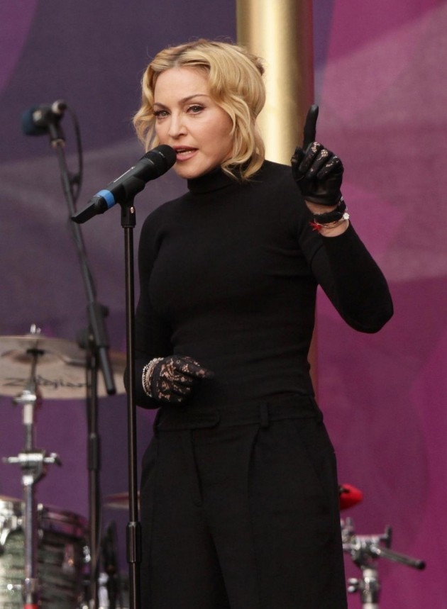 Madonna thinking of comedy switch