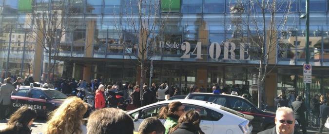 Sole 24 Ore, allarme bomba dopo chiamata anonima: evacuata sede del giornale