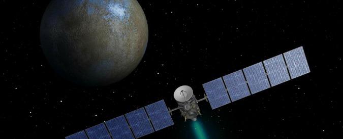 """Sonda Dawn, incontro col pianeta nano Cerere. Nasa: """"Potenziali tracce di vita"""""""