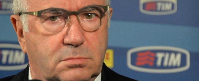 """Calcioscommesse, Tavecchio: """"Rinvio a giudizio per Conte? Non è una condanna"""""""