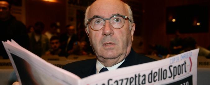 Parma calcio, quando Tavecchio nel 2013 premiava Ghirardi come miglior dirigente