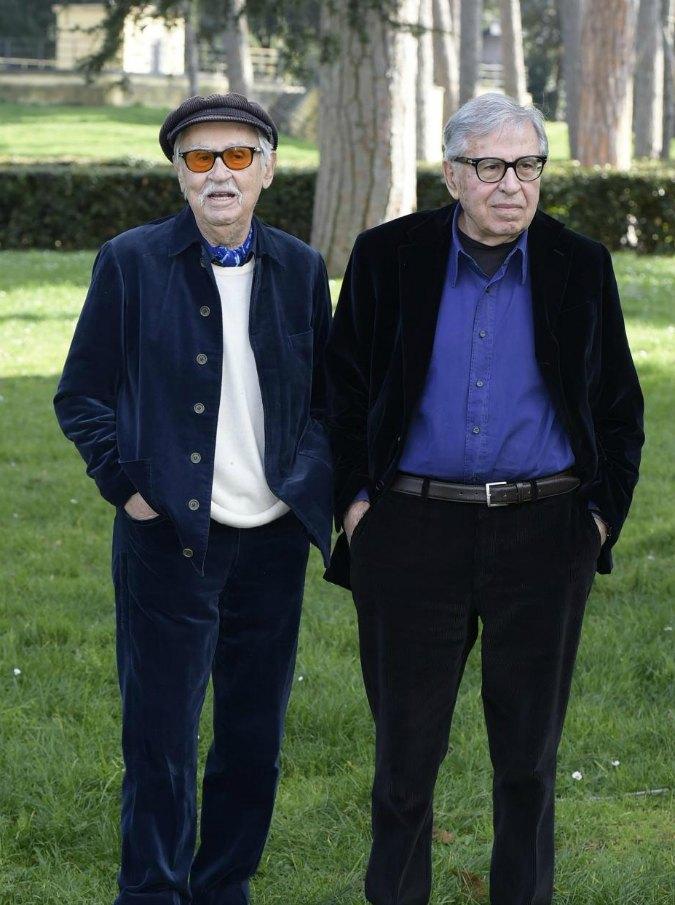 """I fratelli Taviani: """"Fare cinema è una droga. La voglia non ci passa. Non chiamateci maestri"""""""