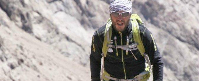 Nico Valsesia, dal mare all'Aconcagua in 8 ore: racconto di un record