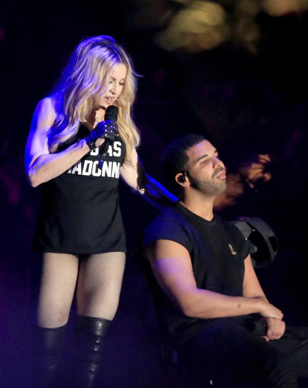 Madonna e Drake – 2015 Coachella Valley Music And Arts Festival