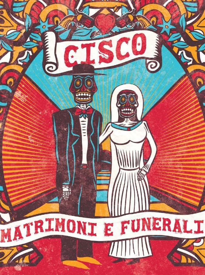 Cisco, i funerali? Più onesti e meno ipocriti dei matrimoni. Così canta nel suo nuovo disco