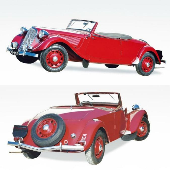 Traction Avant 15 Six Cabriolet, la Citroën più pagata di tutti i tempi
