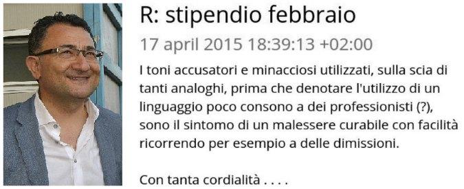 """Calabria, co.co.co. chiede stipendio, n.1 di Confindustria le consiglia: """"Si dimetta"""""""