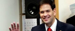 """Usa, Rubio si candida alla presidenza. """"Hillary Clinton? Leader del passato"""""""