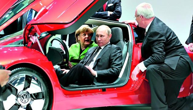 Merkel Putin Winterkorn