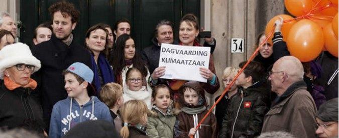 """Olanda, la class action: """"Il governo non ci protegge dai cambiamenti climatici"""""""