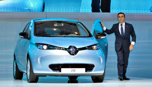 Renault Zoe Carlos Ghosn