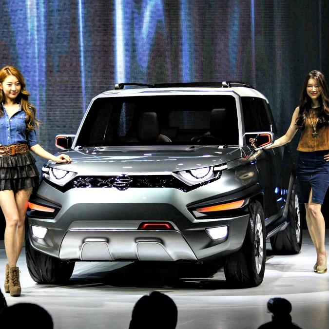 Ssangyong XAV concept, ecco la faccia della nuova Korando