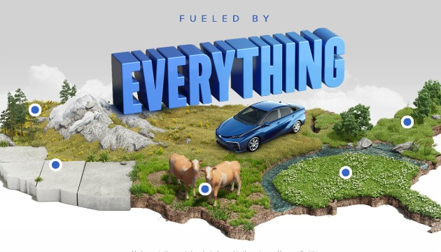 Toyota Mirai fueled by everything