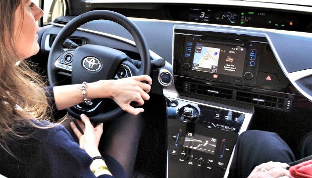 Toyota Mirau interno