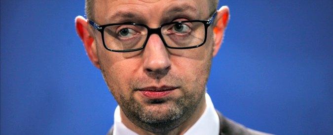 """Ucraina, premier Yatsenyuk: """"Firmeremo a breve 2 nuovi trattati con la Nato"""""""