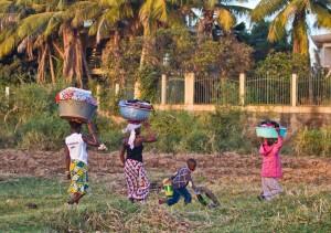 MALI-BAMAKO-NIGER RIVER-DAILY LIFE
