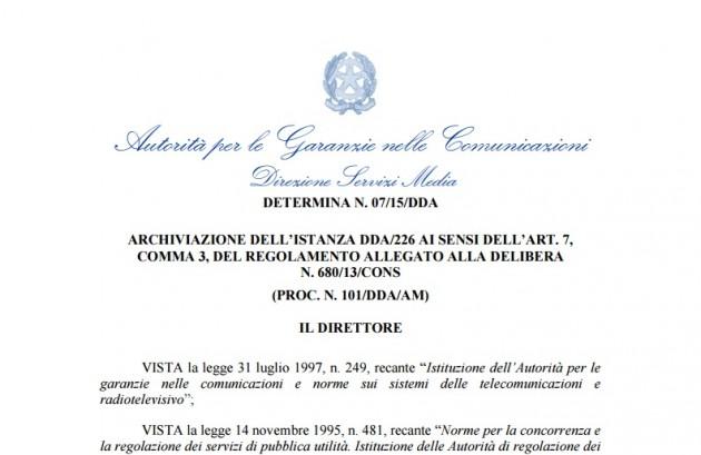 Vaticano-Agcom