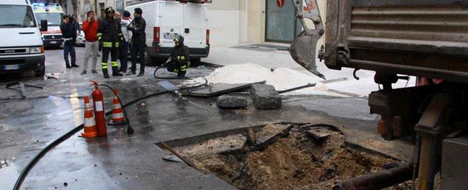 Barletta, un morto e tre feriti per esplosione causata da una fuga di gas