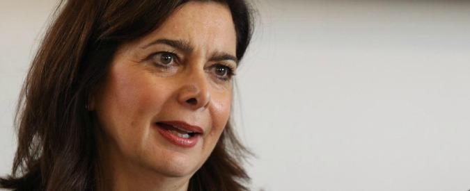 """Laura Boldrini: """"Jobs Act ha creato nuovi lavoretti, i ricchi paghino l'Imu. Non ci sono condizioni per alleanza con Pd"""""""