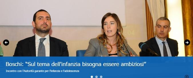 Riforme costituzionali: online il nuovo sito del ministro Boschi, ma è anti-2.0
