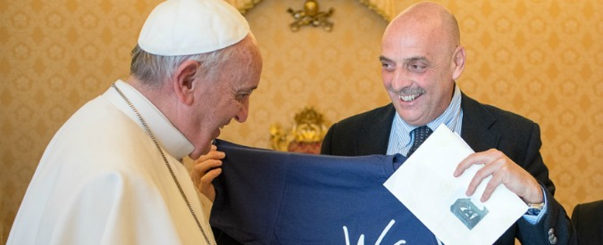 Paolo Brosio ricevuto da Papa Francesco dopo presa in giro di Scherzi a parte