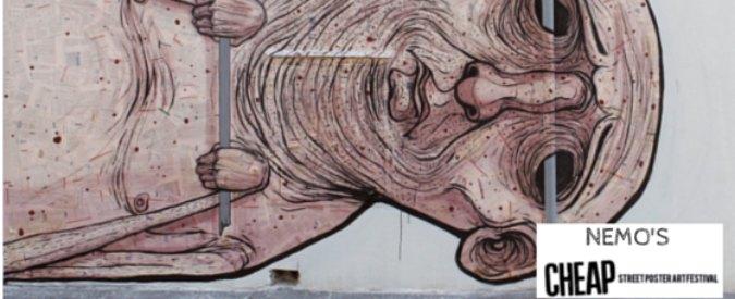 Cheap Festival Bologna 2015, quando la street art si fa su manifesti di carta