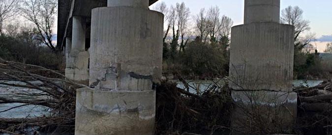 """Chieti, """"quel ponte non è sicuro"""". Sui social l'allarme dopo il caso Sicilia"""
