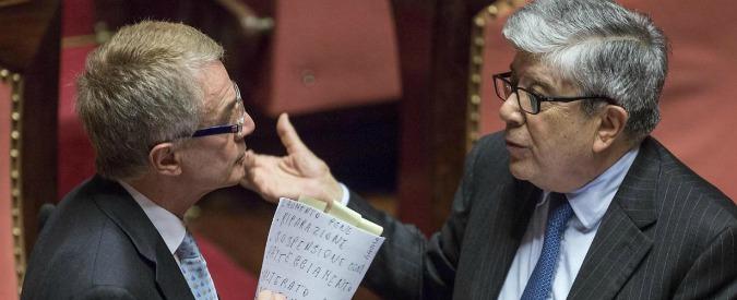 """Corruzione, torna il falso in bilancio: ok per 3 voti. No di Fi: """"Propaganda"""""""