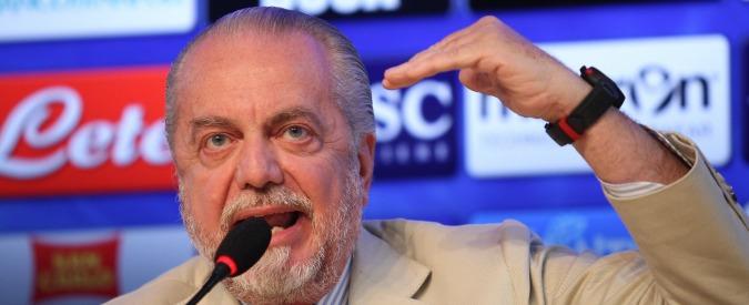"""Napoli Calcio, De Laurentiis ordina: """"Ritiro fino al termine della stagione"""""""