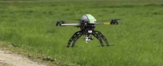 Fidenza, i droni mappano l'amianto e gli sprechi di energia nel Comune