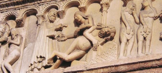 Adamo ed Eva, i testardi del peccato e le lacrime di Dio – I pittori dipinti
