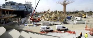 Expo 2015, tre opere su quattro ancora incomplete e senza collaudi