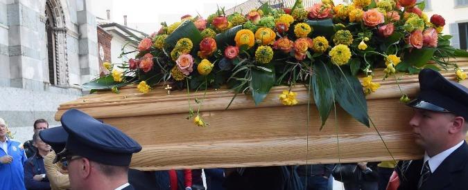 """Claudio Giardiello, il cardinal Angelo Scola ai funerali di Stato: """"Giusta pena"""""""