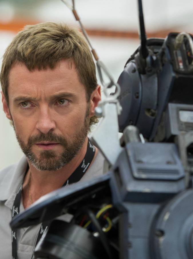Hugh Jackman stars in Columbia Pictures' CHAPPIE.