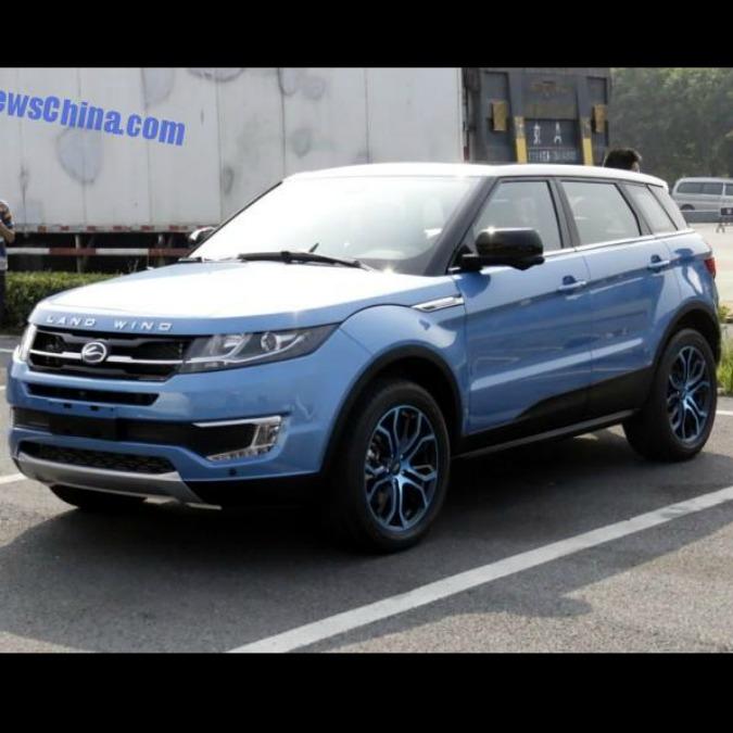 "Evoque copiata, Land Rover costretta a ""mandar giù"" il clone cinese"