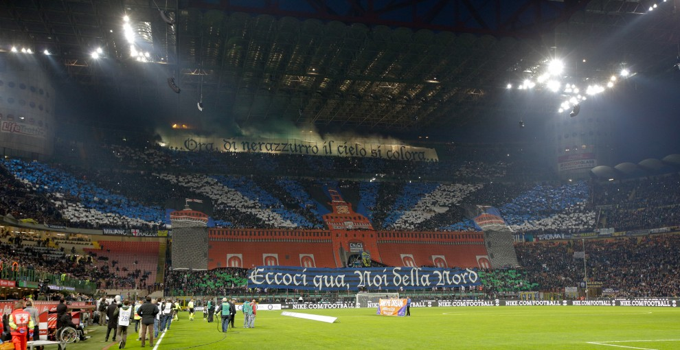 La curva dell'Inter