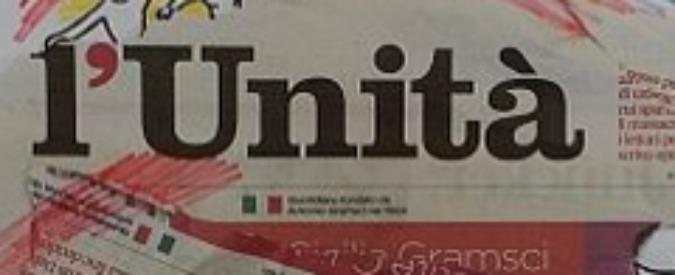 """L'Unità torna in edicola """"entro il 30 giugno"""". Sede a Roma, Frulletti direttore"""