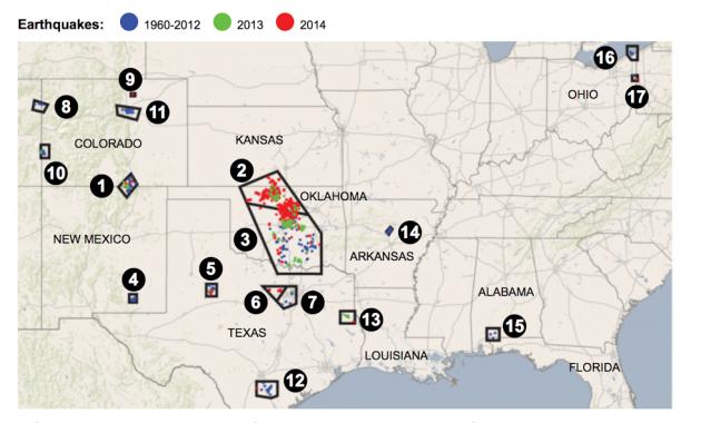 mappa terremoti