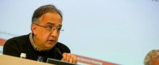 """Fiat Chrysler, Marchionne: """"I dipendenti parteciperanno ai profitti dell'azienda"""""""
