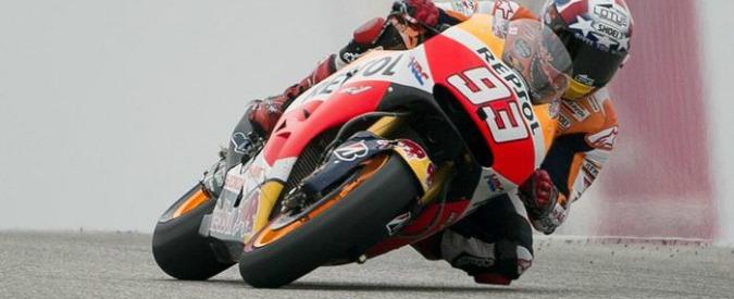 MotoGp, Marquez in pole position. Valentino Rossi ottavo
