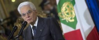 """25 aprile, Mattarella: """"Pietà per tutti, ma non possiamo equiparare i campi"""""""
